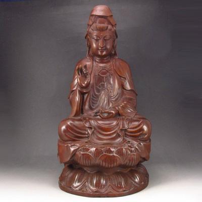 Tượng Gỗ Phật Bà Quan Âm Và Những Lưu Ý Trong Phong Thủy