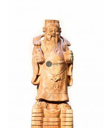 Tượng Gỗ Tam Đa - Phúc Lộc Thọ