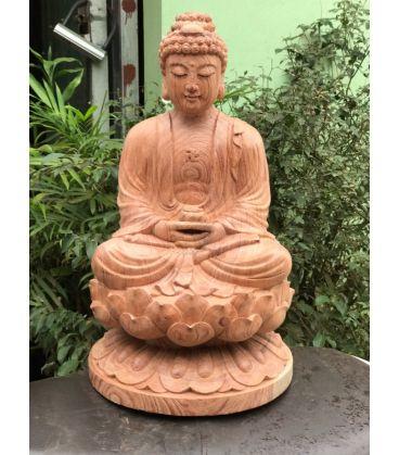 Phật Tổ - A Di Đà Tọa Đài Sen Cao 40