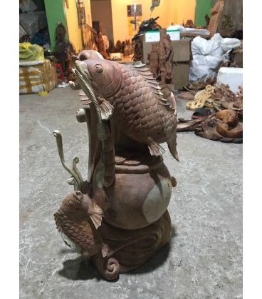 Tượng Cá Chép Phong Thủy
