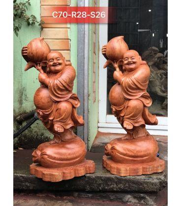 Di Lặc Bưng Đào Tiên Cao 70