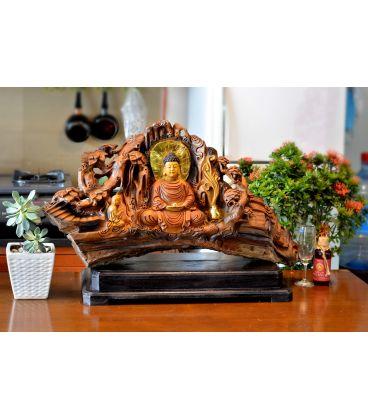 Phật Ngồi Am Núi