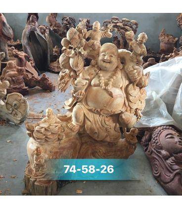 Phật Di Lặc Đứng Lu Tiền