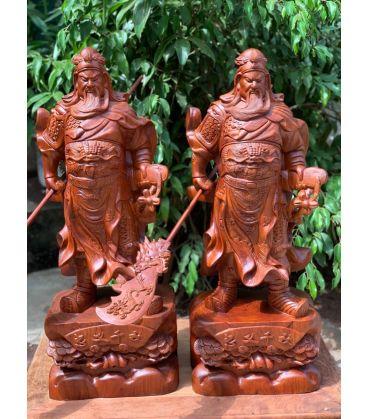 Quan Vân Trường - Quan Vũ Xách Đao - Cao 100