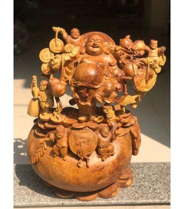 Phật Di lặc Hoan Hỷ Nu Hương