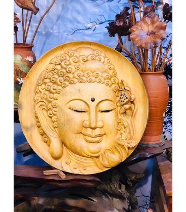 Tượng Diện Phật Gỗ Pơ Mu