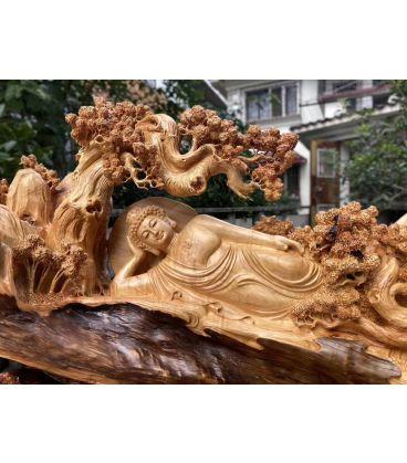 Tượng Gỗ Điêu Khắc Nghệ Thuật Phật Tổ