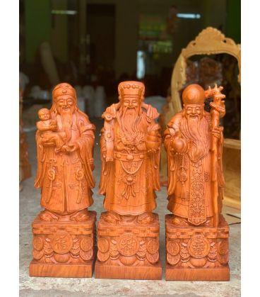 Tượng Tam Đa - Phúc Lộc Thọ Cao 40 - Mẫu 2