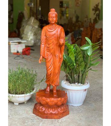 Phật Thích Ca Mâu Ni Đứng Trên Hoa Sen Cao 80