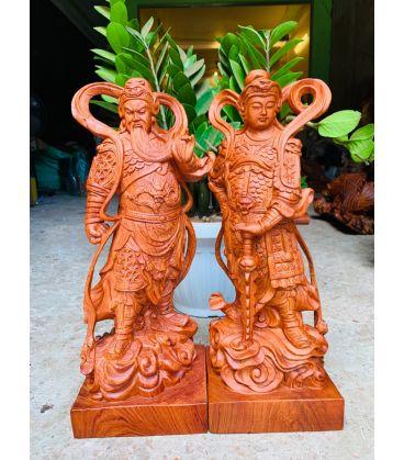 Hai Vị Hộ Pháp - Vi Đà Tôn Thiên Và Quan Công