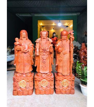 Tượng Tam Đa - Phúc Lộc Thọ Cao 126cm