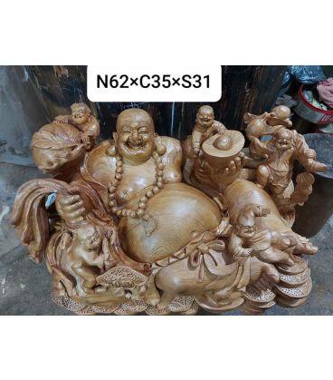 Phật Di Lặc Ngũ Phúc  Ngọc Am