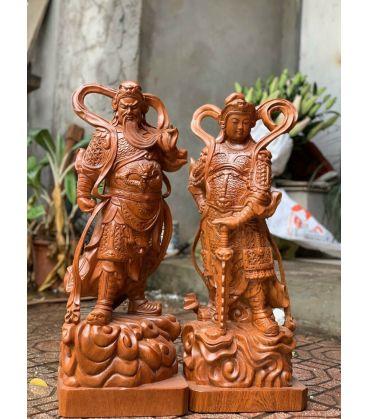Hai Vị Hộ Pháp - Vi Đà Tôn Thiên Và Quan Công Cao 70
