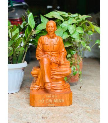 Tượng Toàn Thân Bác - Hồ Chí Minh Ngồi