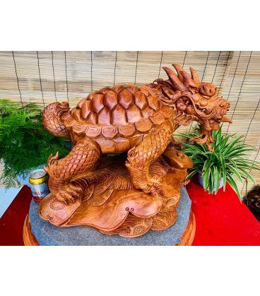 Tượng Long Quy Phong Thủy -Mình Rùa Đầu Rồng