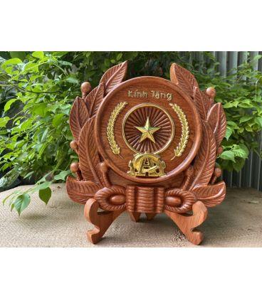 Huy hiệu công an nhân dân Băng Gỗ